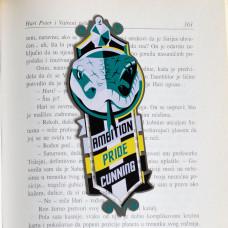 HP Slytherin Bookmarker