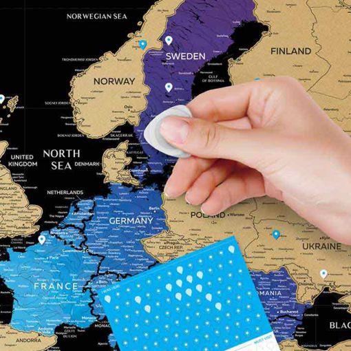 Greb Mapa Evrope