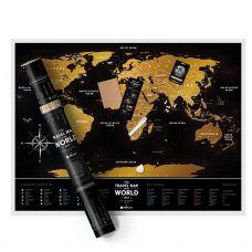 Deluxe Greb Mapa Sveta