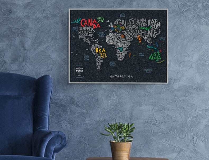 greb mapa sa slovima