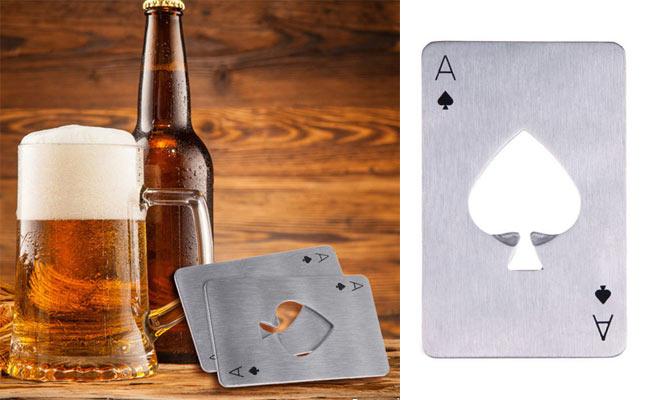 karta otvarač za pivo