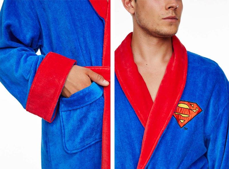 supermen bade mantil