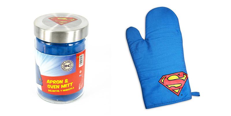 superman kecelja i rukavica