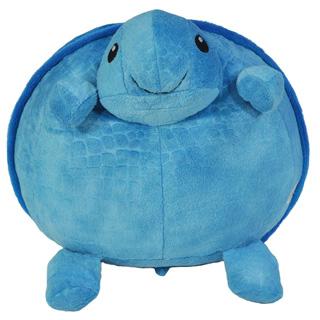 Pufnasta plava kornjača jastuk